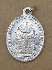 Rarità antico Amulet Pellegrini MEDAGLIA-MAESTA 'immagine-Santo montagna Kloster (aw74)