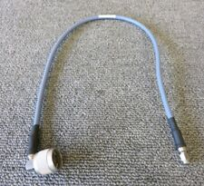 Huber & Suhner 30-09530-10/A SMA Male to N Male Right Angle 50CM Coxial RF Cable