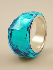 Swarovski Nirvana Petite Ring Indicolite (Indigo Blue)  Size 55/M  #1103229 BNIB