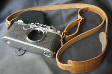 Smooth real Leather Strap analog or Mirrorless Cameras leica nikon canon contax