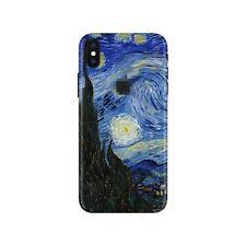iPhone 8 7 Skin STICKER Decal 10 6 Plus 6s X xs Max Starry night Van Gogh PS019