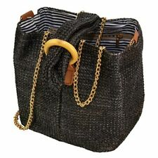 Hand Woven Rattan Straw For Women Bohemia Retro Beach Shoulder Bag Gift Tote Bag