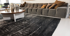 Mad Men Griff White on Black 8655 Rug Louis De Poortere carpet