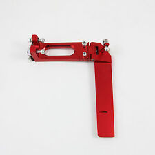 130mm CNC Aluminum Boat Rudder RED for Medium Size RC Boat
