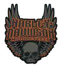Harley Davidson Gothic Wings Patch