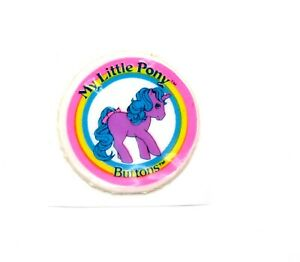 ⭐️ My Little Pony ⭐️ G1 Euro Movie Stars Buttons Used Puffy Sticker Accessory!