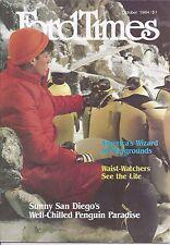 Ford Times October 1984 Errol Manoff Towering Puppets Liza Minnelli Oct/84 News