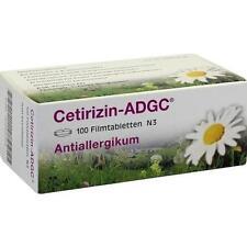 CETIRIZIN ADGC Filmtabletten 100St Filmtabletten PZN 2663704