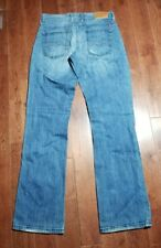 Lucky Brand Jeans Size 2/26 30x33* Boone Easy Rider Boot 33 Long Distressed B403