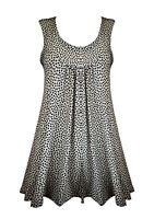 New Ladies Women Casual TOP Long Summer Sleeveless Tunic Long Dress Shirt Blouse