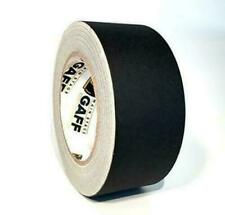 New listing Gaffers Tape - 2 inch by 30 Yard Roll - Black - Main Stage Gaff Tape - Easy to