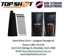 Gun Safe Storage Solution - Rifle Rods Starter Packs up to 50% more in your safe