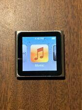Apple Ipod Nano 6th generación 8GB-Plata