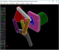 SOLVESPACE -- parametric 2d/3d CAD