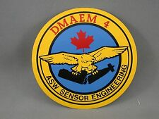 DMAEM 4 ASW Sensor Engineering Canadian Military Decal Arms Trade Show 1984