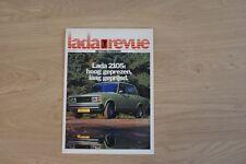 LADA REVUE 2105 BROCHURE / PROSPEKT 1983