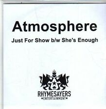 (DA850) Atmosphere, Just For Show / She's Enough - 2011 DJ CD