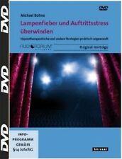 DVD, Lampenfieber und Auftrittsstress überwinden, Michael Bohne, NEU/OVP