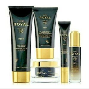 JAFRA  ROYAL DEFY Facial Cleanser, Moisturizer, Eye Treatment, Firm Serum, SPF