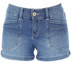 Unionbay Juniors Mid-Rise Denim Shorts