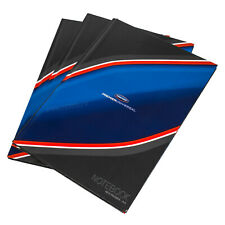 3 x Office A4 Paper Notebooks Hardback 80 Leaf Lined Writing Manuscript Books