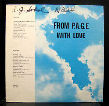 Herman Ruff & Friends From P.A.G.E. With Love Mint- RCL Private Gospel Soul Funk