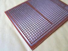 5x pcb 7x9cm Streifenraster Veroboard Lochraster Platine Leiterplatte joint hole