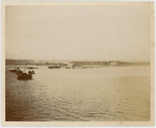 Vue sur la mer Vintage Print Tirage citrate  9x12  Circa 1890