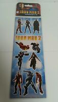IRON MAN - *New & Sealed* Avengers Iron Man 2 Magnets Marvel 2010 Collectible