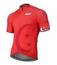 Singapore Short Sleeve Cycling Jersey Free Shipping