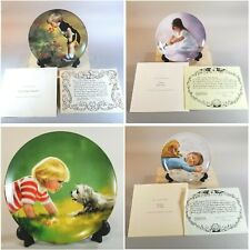 Lot of 4 Pemberton & Oakes 1985 Donald Zolan Collector Plate