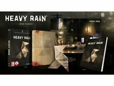 HEAVY RAIN LIMITED EDITION NEW SEALED PC BOX EPIC ENGLISH ARTBOOK POSTER ORIGAMI