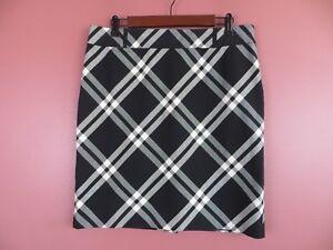 SK11688-TALBOTS Womens 97% Cotton Pencil Skirt Multi-Color Argyle Sz 12P