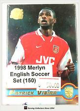 1998 Merlin Gold English Premier League Soccer Trading Card Base Set (150)-Rare
