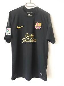 BARCELONA FC 2011/2012 AWAY FOOTBALL SHIRT JERSEY SPAIN