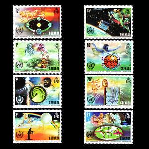 Grenada 1973 - 100th Anniversary of I.M.O./W.M.O. - Greek Gods - Sc 490/7 MNH