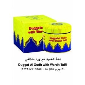 Duggatal Oudh Wardh Taifi 50gms by Al Haramain - Bakhoor/Incense (Rose/Musk/Oud)