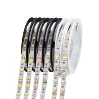 5M Waterproof DC LED Strip Light 5050 RGB RGBW white Pink Ice Blue Red tape lamp
