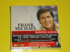 """COFFRET CD + DVD EDITION DE LUXE FRANK MICHAEL """"ENCORE QUELQUES MOTS D'AMOUR"""""""