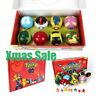 2.8'' 8Pcs Pokeball Ball set Pokemon Action Figures Christmas Toy Xmas Gift  UK
