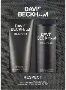 David Beckham Respect Shower Gel 200 ml - Deodorant 150 ml Men's Gift set