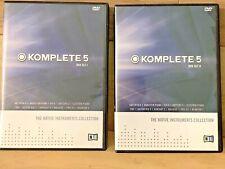 Native Instruments Komplete 5 Collection DVD Sets 1 & 2