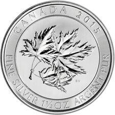 2015 Canada 1.5 oz Canadian Maple Leaf .9999 Fine Silver Bullion $8 Coin