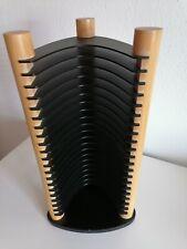 CD-Ständer aus Holz und Kunststoff - Aufbewahrung für 20 CDs