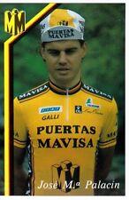 CYCLISME carte cycliste JOSE M.a PALACIA équipe PUERTAS MAVISA