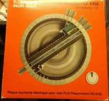 Fleischmann 6152 H0 Turntable Electric For Professional-Track With 16