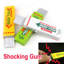 Newest Electric Shock Joke Chewing Gum Shocking Toy Gift Prank Trick Gag Funny