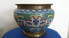 Chinese Cloisonne Antique Vases