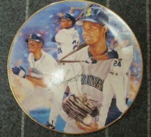 """Gartlan 1992 Ken Griffey Jr 8.5"""" 24 Seattle Thunder Collectors League Plate HOF"""