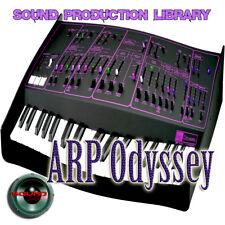 ARP ODYSSEY - Large unique original WAV/Kontakt Samples Studio Library on DVD